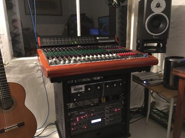 Toft - Mixer im Stralsunder Studioteil des Muiskateliers